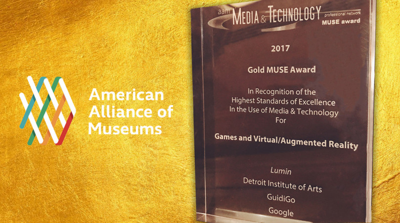 GuidiGO Gold MUSE Award 2017
