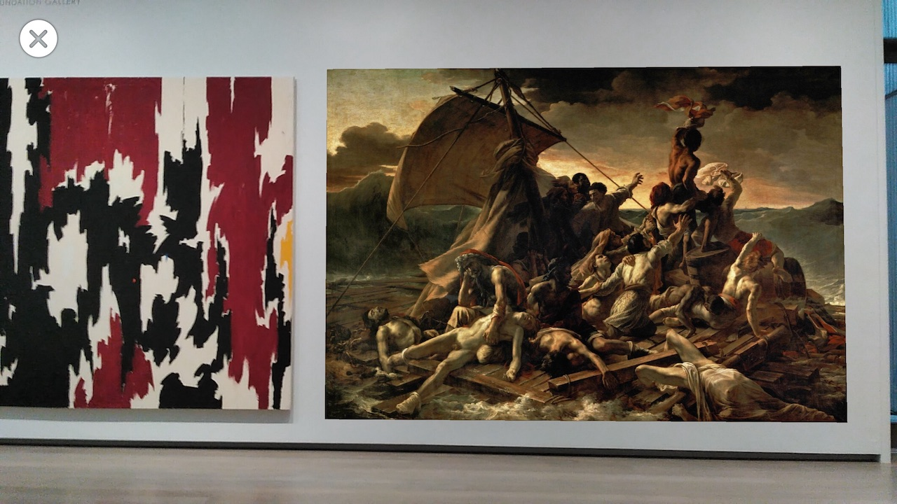 clyfford still vs gericault