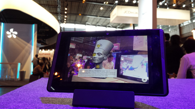 L'application de réalité augmentée GuidiGO à Viva Tech 2016