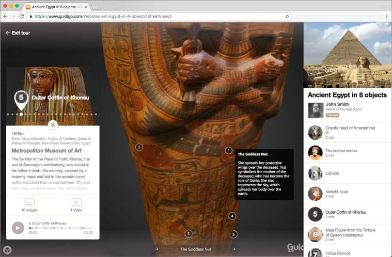 GuidiGO intègre les contenus 3D de Sketchfab