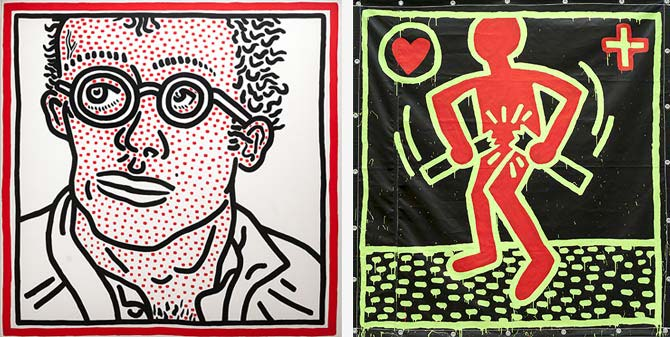 Keit Haring - The Political Line