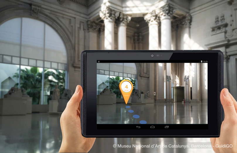 GuidiGO Project Tango AR Directions